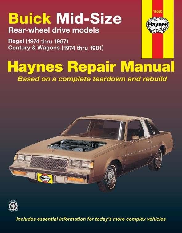 HAYNES - Repair Manual - HAN 19030