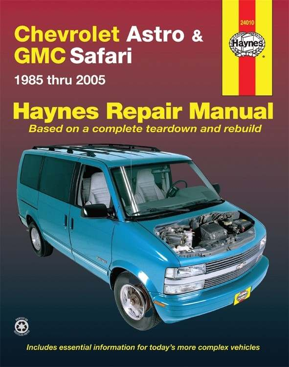 HAYNES - Repair Manual - HAN 24010