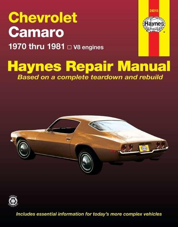 HAYNES - Repair Manual - HAN 24015