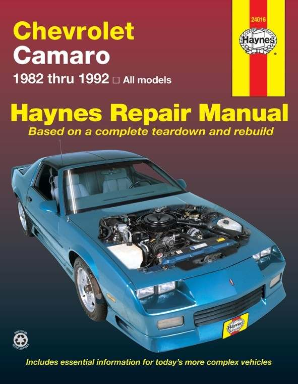 HAYNES - Repair Manual - HAN 24016