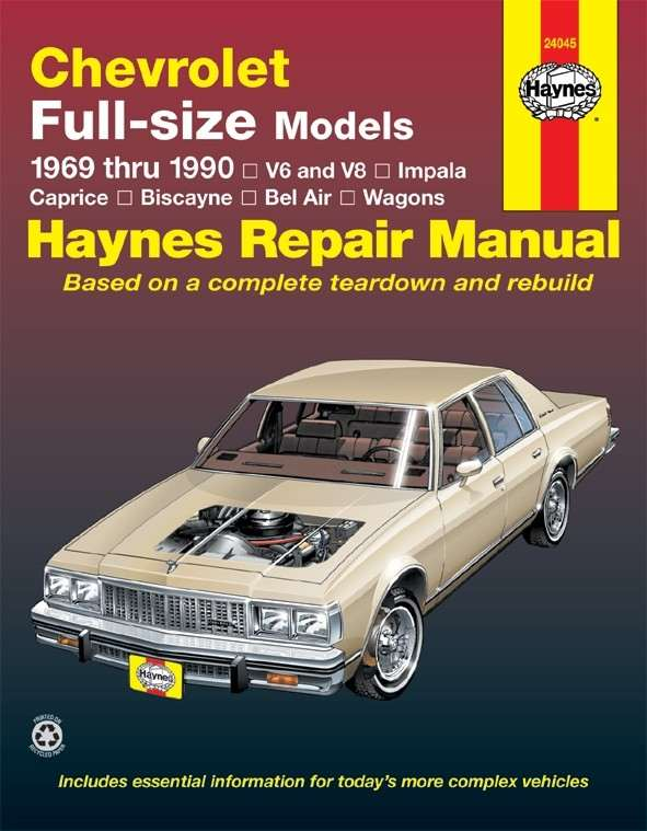 HAYNES - Repair Manual - HAN 24045
