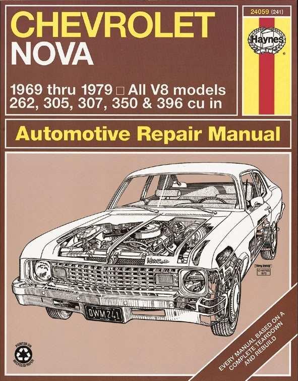 HAYNES - Repair Manual - HAN 24059