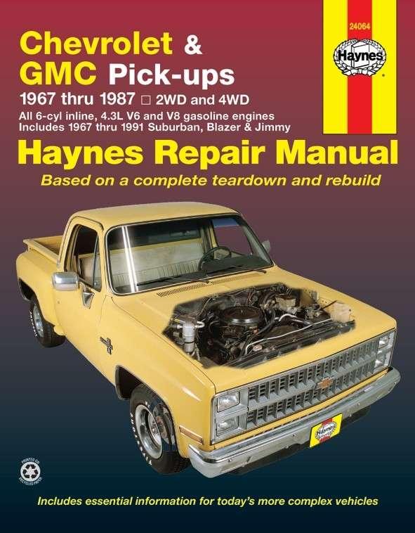HAYNES - Repair Manual - HAN 24064
