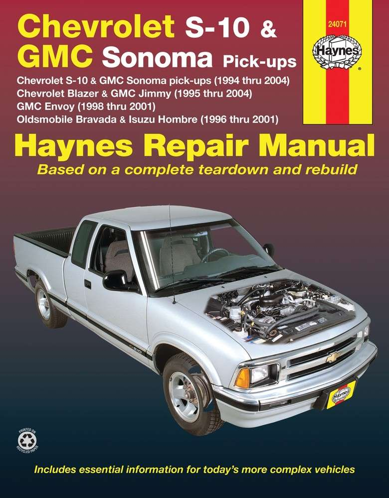 HAYNES - Repair Manual - HAN 24071
