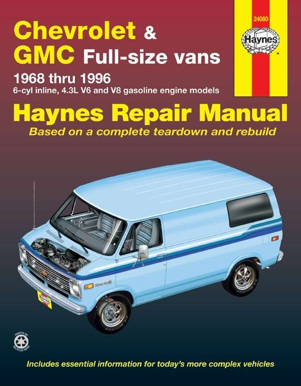 HAYNES - Repair Manual - HAN 24080