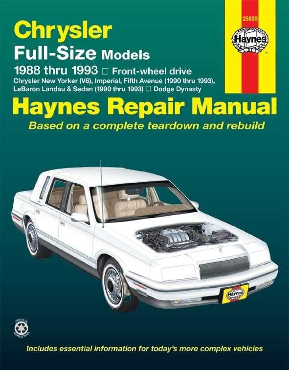 HAYNES - Repair Manual - HAN 25020