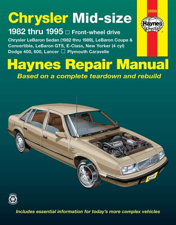 HAYNES - Repair Manual - HAN 25030