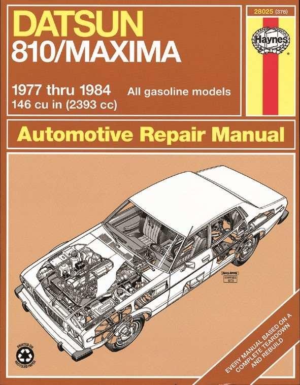 HAYNES - Repair Manual - HAN 28025