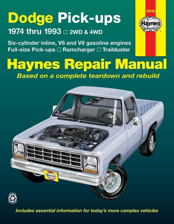 HAYNES - Repair Manual - HAN 30040