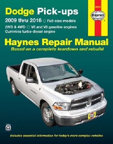 HAYNES - Repair Manual - HAN 30043