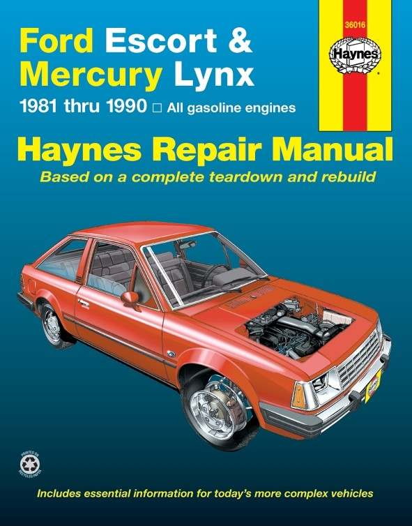 HAYNES - Repair Manual - HAN 36016