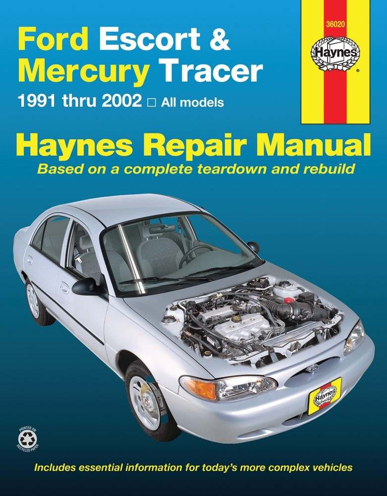 HAYNES - Repair Manual - HAN 36020