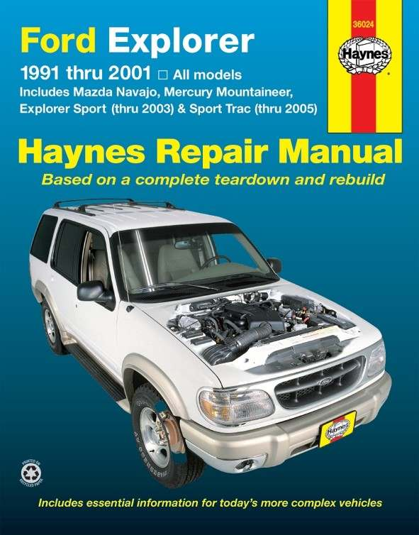 HAYNES - Repair Manual - HAN 36024