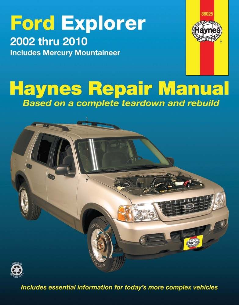 HAYNES - Repair Manual - HAN 36025