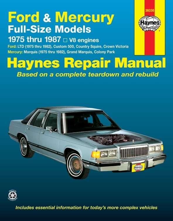 HAYNES - Repair Manual - HAN 36036