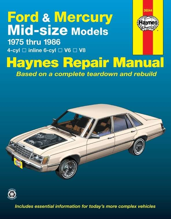 HAYNES - Repair Manual - HAN 36044