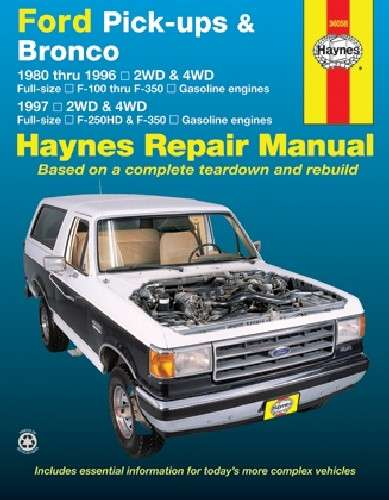 HAYNES - Repair Manual - HAN 36058