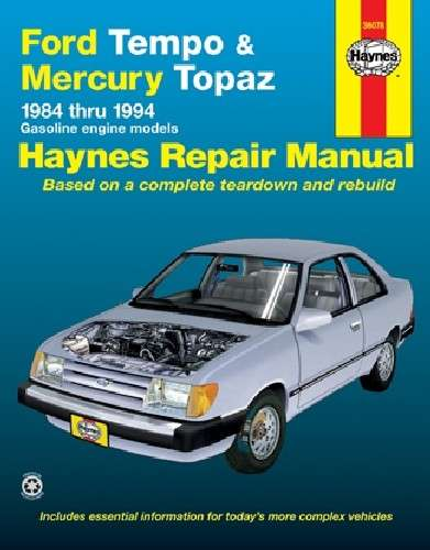 HAYNES - Repair Manual - HAN 36078
