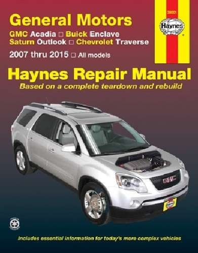 HAYNES - Repair Manual - HAN 38001