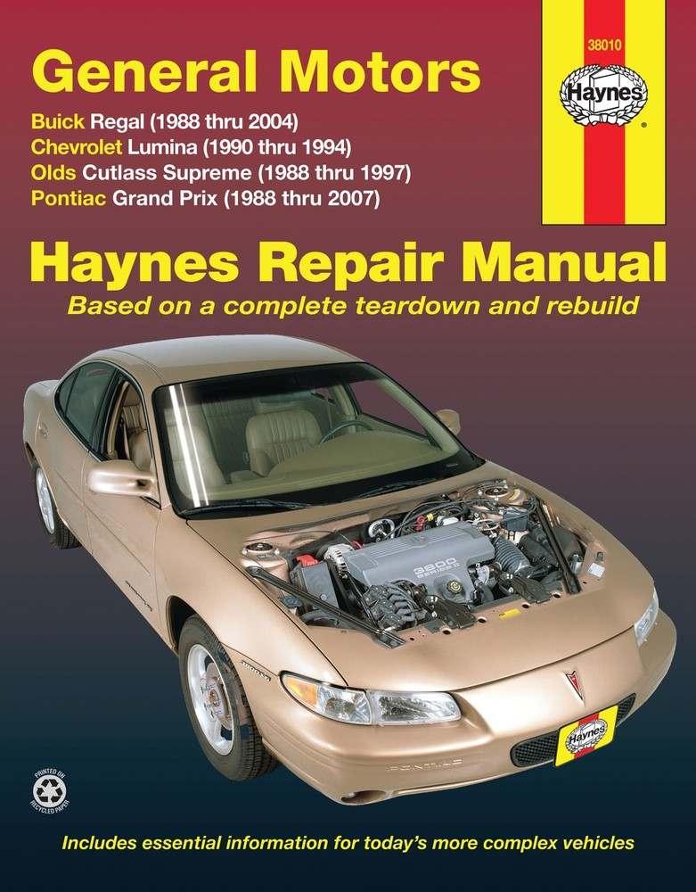HAYNES - Repair Manual - HAN 38010