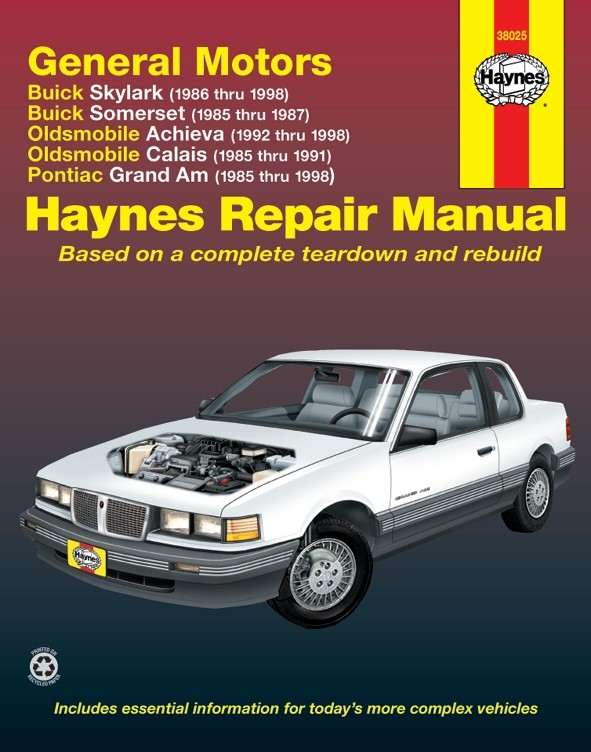 HAYNES - Repair Manual - HAN 38025