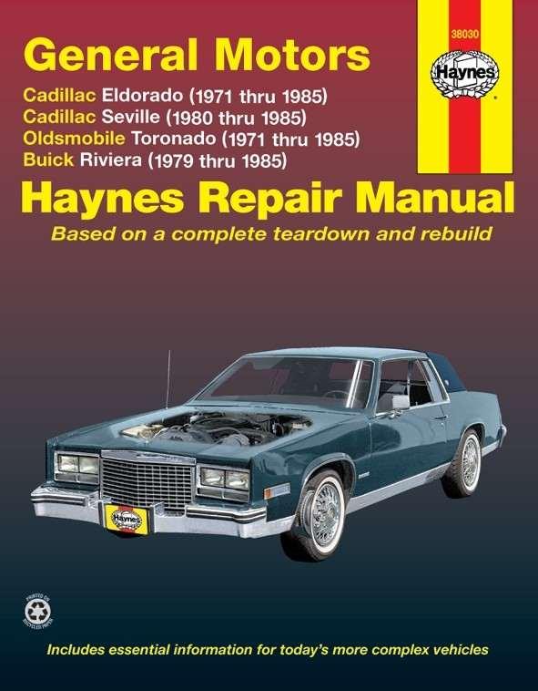 HAYNES - Repair Manual - HAN 38030