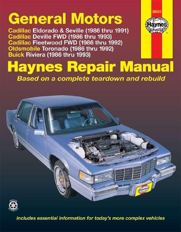 HAYNES - Repair Manual - HAN 38031