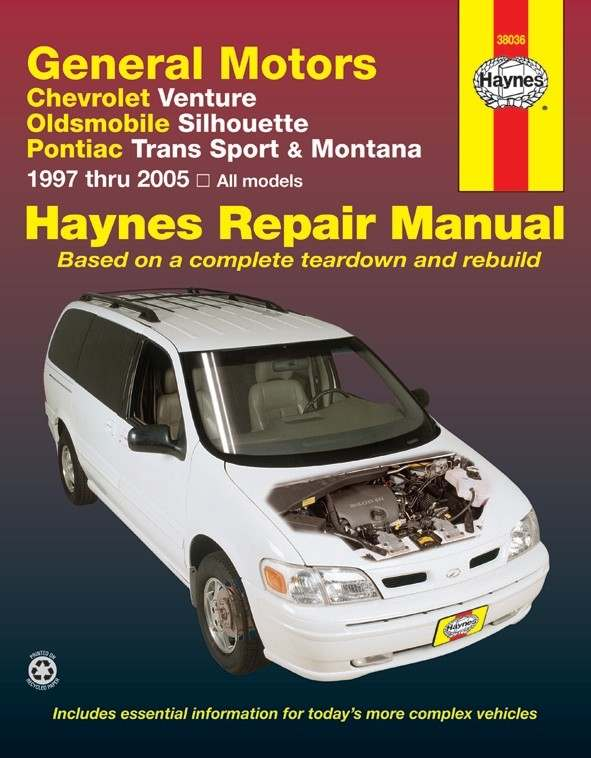HAYNES - Repair Manual - HAN 38036