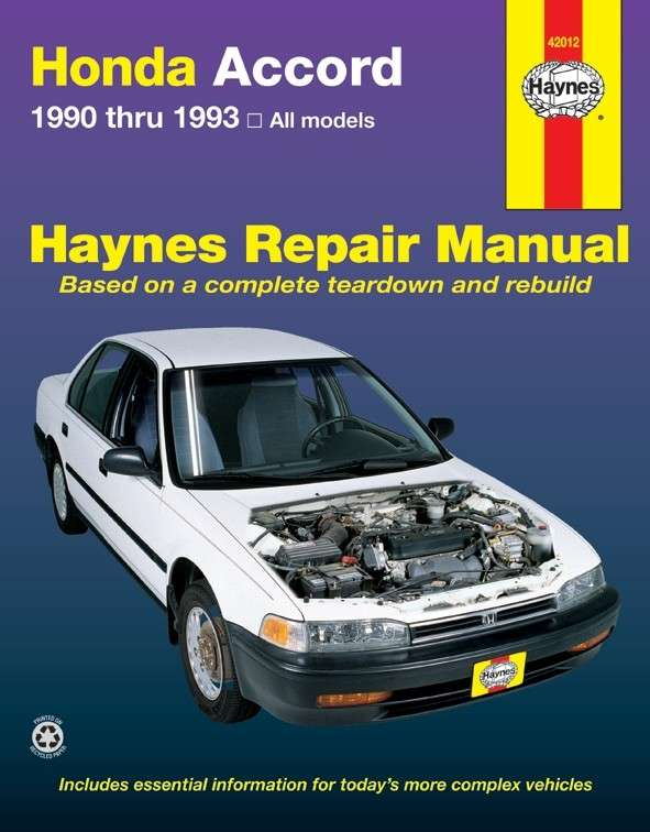 HAYNES - Repair Manual - HAN 42012