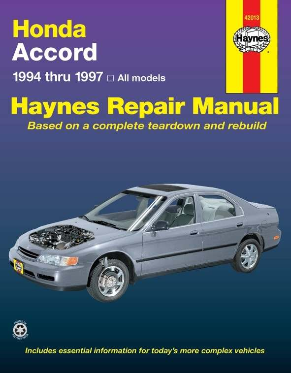 HAYNES - Repair Manual - HAN 42013