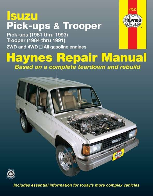 HAYNES - Repair Manual - HAN 47020
