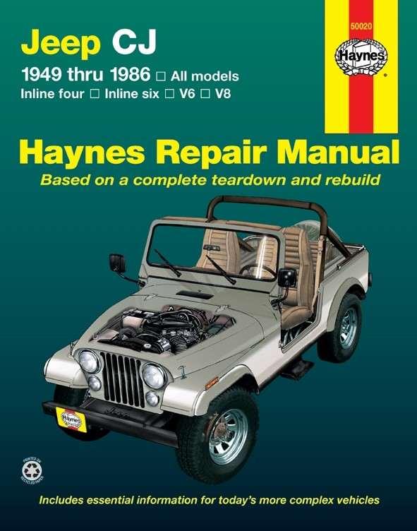HAYNES - Repair Manual - HAN 50020