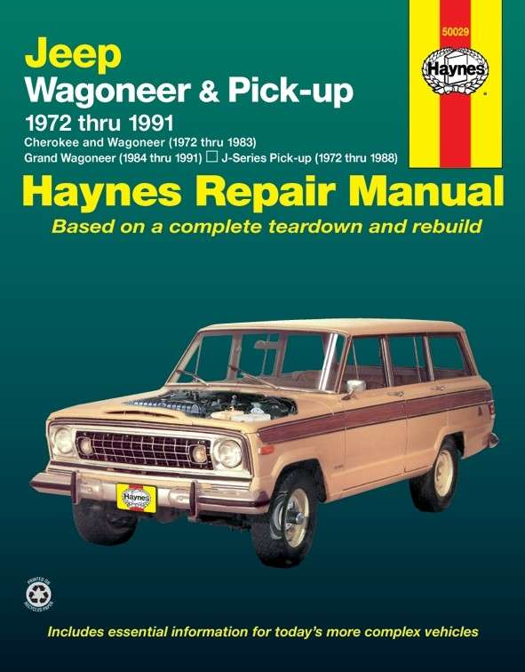 HAYNES - Repair Manual - HAN 50029