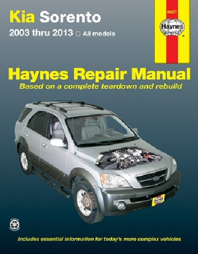 HAYNES - Repair Manual - HAN 54077