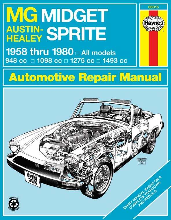 HAYNES - Repair Manual - HAN 66015