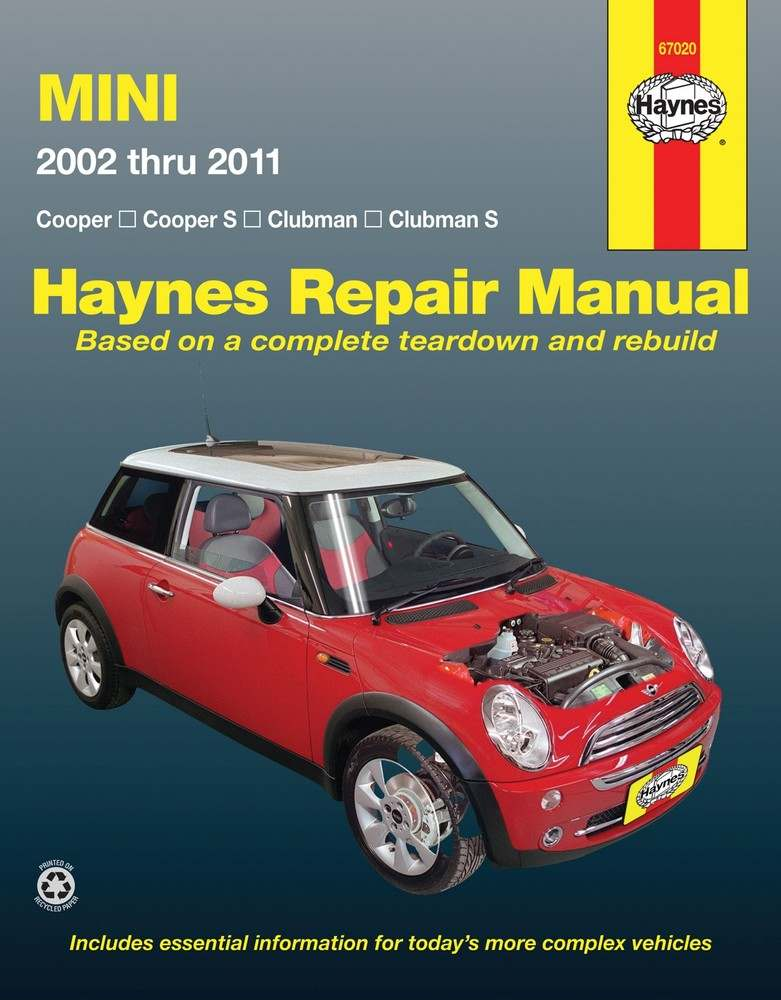 HAYNES - Repair Manual - HAN 67020