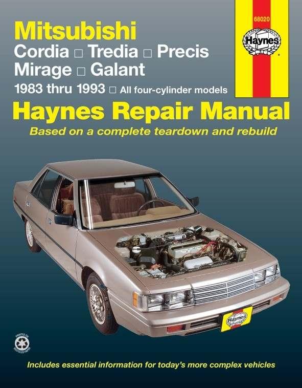 HAYNES - Repair Manual - HAN 68020