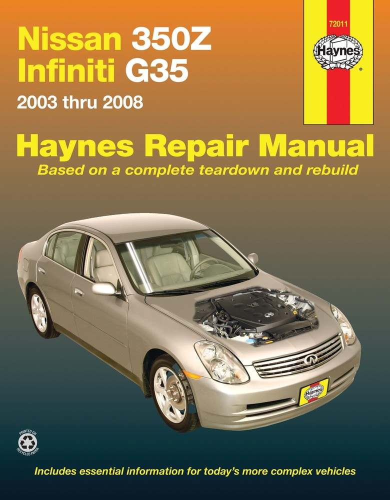 HAYNES - Repair Manual - HAN 72011