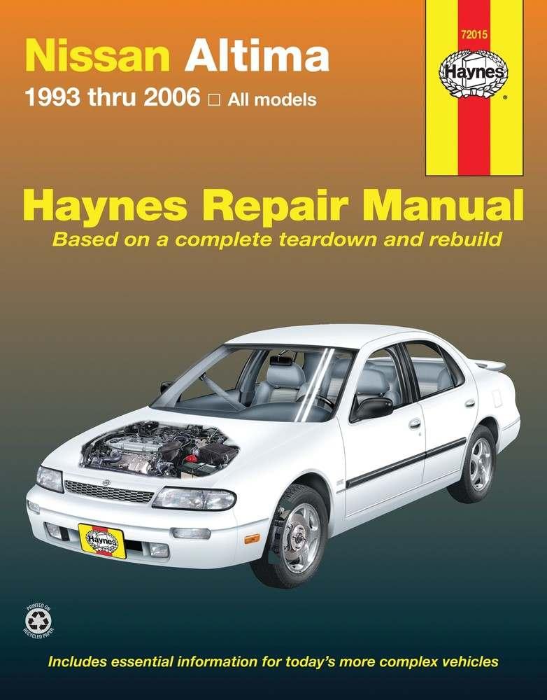 HAYNES - Repair Manual - HAN 72015