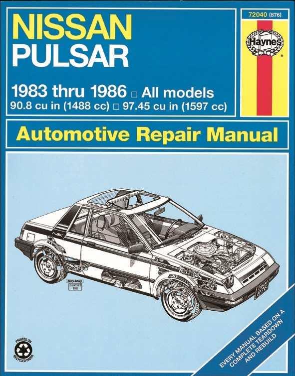HAYNES - Repair Manual - HAN 72040