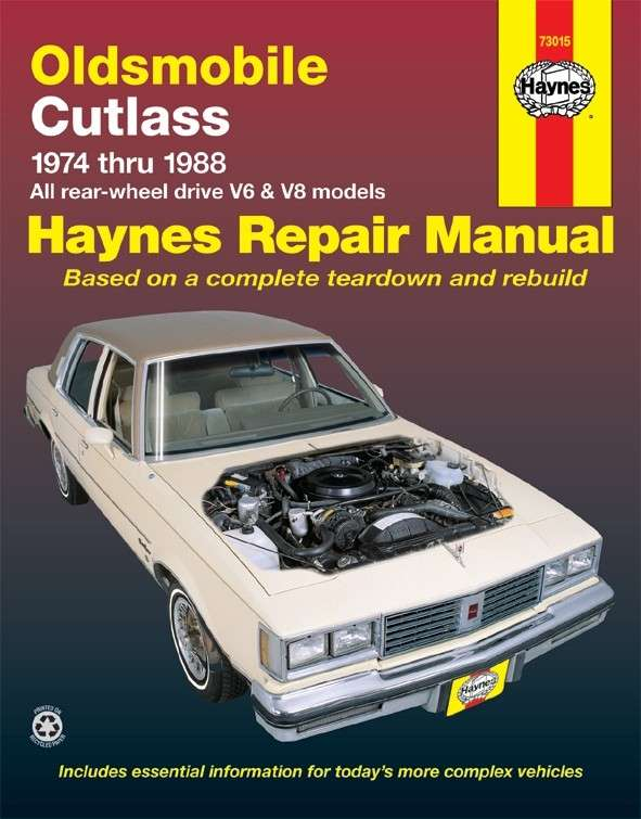 HAYNES - Repair Manual - HAN 73015
