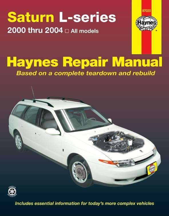 HAYNES - Repair Manual - HAN 87020