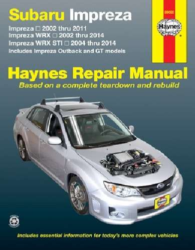 HAYNES - Repair Manual - HAN 89080