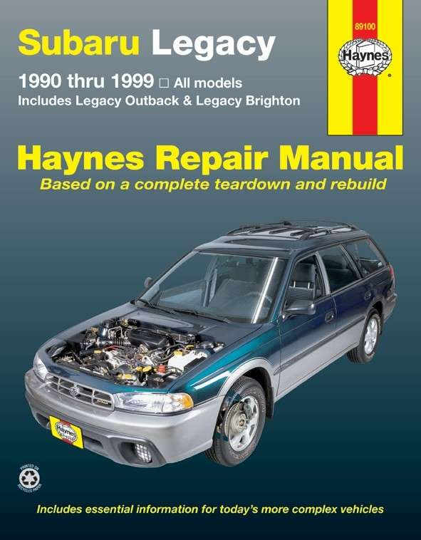 HAYNES - Repair Manual - HAN 89100