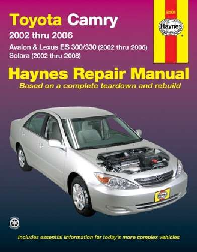 HAYNES - Repair Manual - HAN 92008