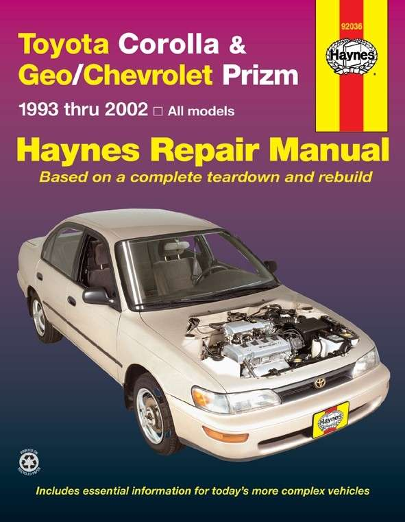 HAYNES - Repair Manual - HAN 92036