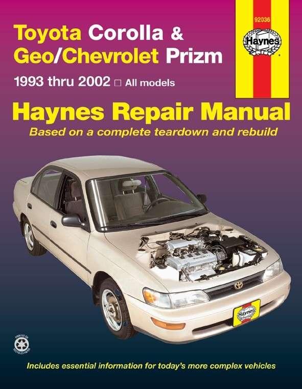 HAYNES - Repair Manual - HAN 92036