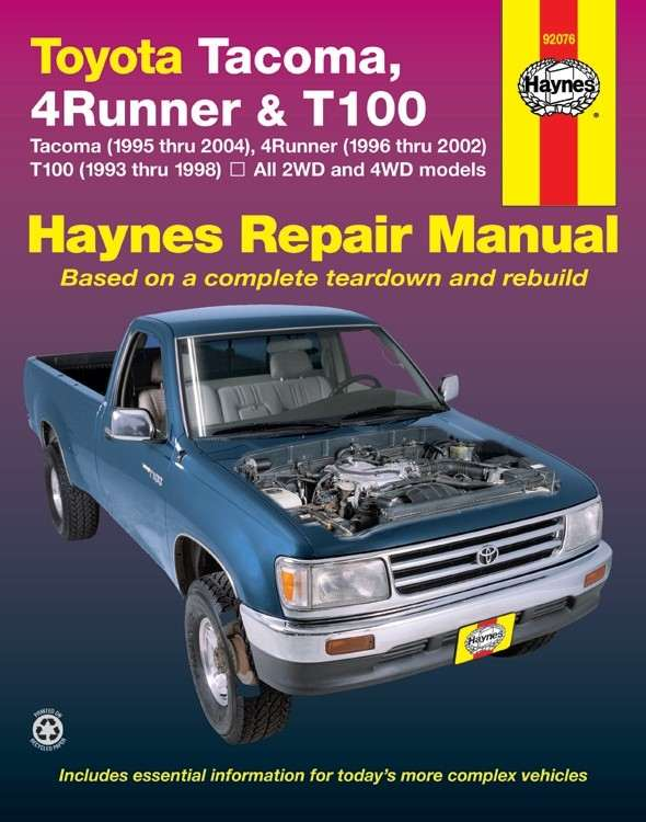HAYNES - Repair Manual - HAN 92076