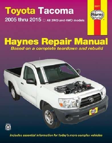 HAYNES - Repair Manual - HAN 92077