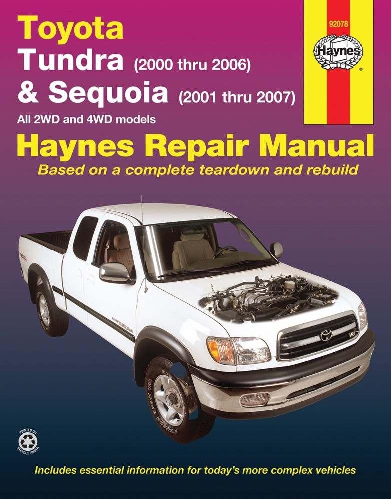 HAYNES - Repair Manual - HAN 92078